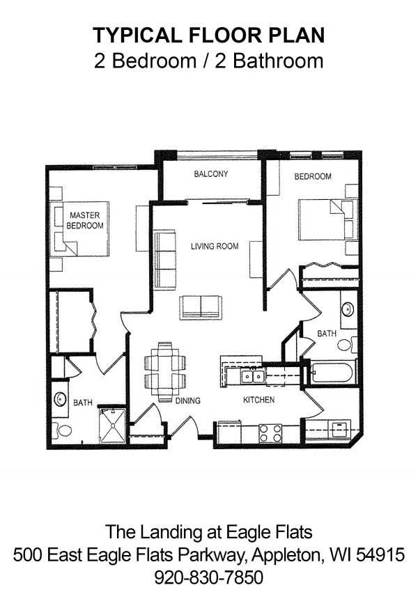 Landing at eagle flats apartments appleton wi floor plans malvernweather Choice Image